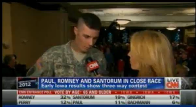 Ron Paul, when was the last time CNN had Technical Difficulty ?