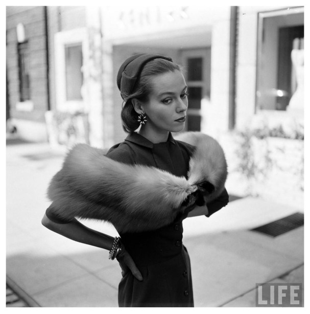 Gloria Vanderbilt a Gordon Parks Photo