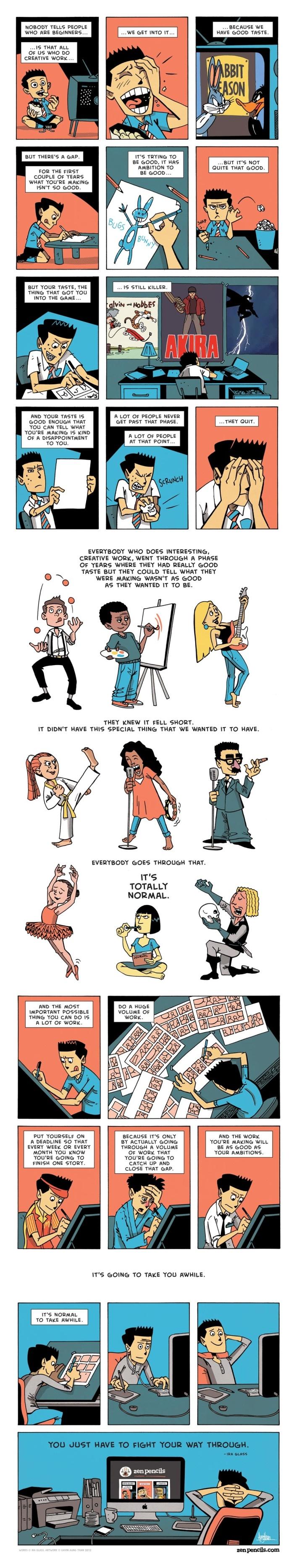 creativity illustrated from illustration inspiration
